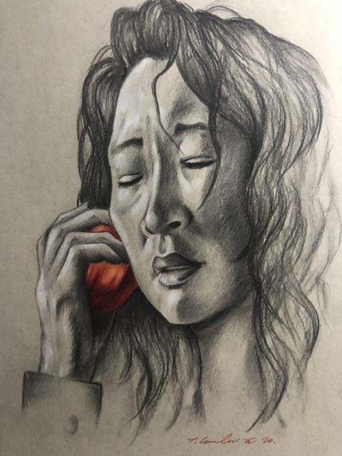 Sandra Oh by TraceyLawler